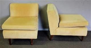Midcentury Bertha Schaefer ? Pair of Lounge Chairs