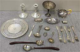 STERLING. Miscellaneous Hollow Ware and Flatware.