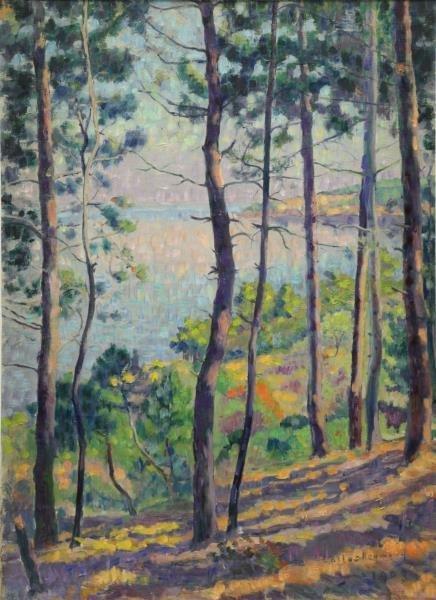REYMOND, Carlos. Impressionist Oil on Canvas