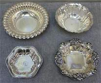 STERLING Miscellaneous Silver Hollow Ware Group