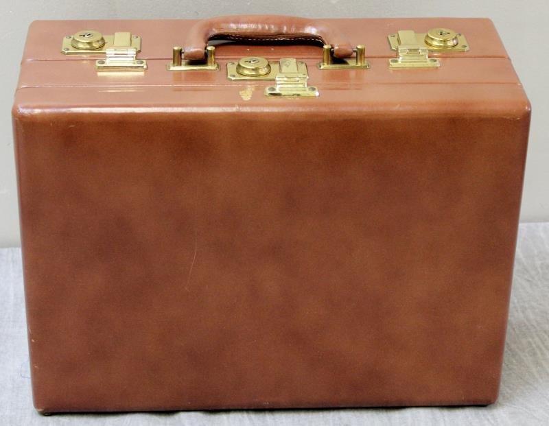 Vintage Mark Cross Leather Vanity Case. - 5