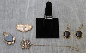 JEWELRY. Antique Jewelry Grouping.