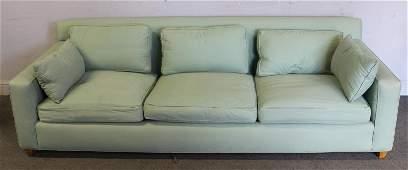 Midcentury Upholstered Edward Wormley Dunbar Sofa.