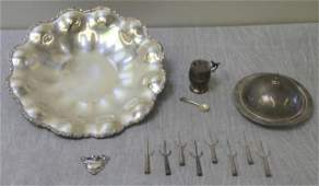 STERLING Miscellaneous Silver Hollow Ware