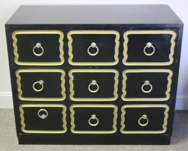 Midcentury Dorothy Draper Chest Of Drawers