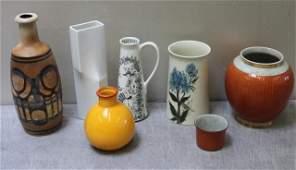 Midcentury Ceramic and Porcelain Lot.