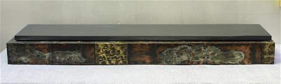Paul Evans Wall Mounted Slate Top Console