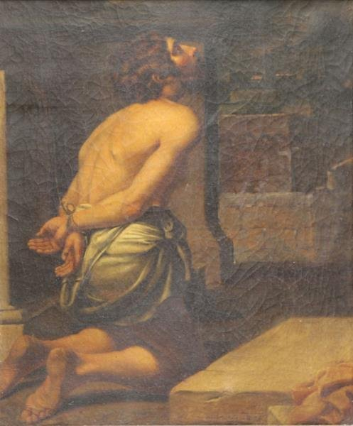 SPADA, Lionello (After). Oil on Canvas. Christ at