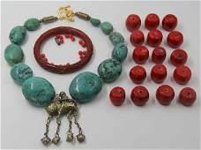 JEWELRY. Asian Jewelry Grouping.