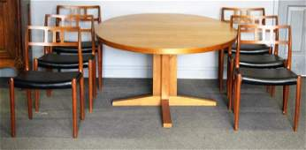 Midcentury Niels O. Moller Dining Set.