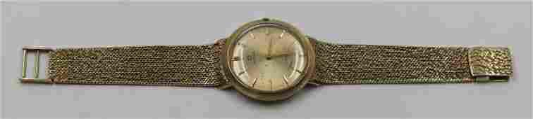 JEWELRY Vintage Gentlemens 14kt Gold Omega