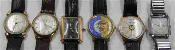 WATCHES. Grouping of Men's Wrist Watches.
