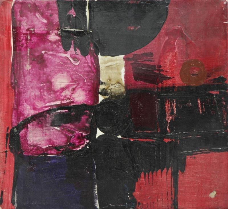 SAKAI, Kazuya. 1963 Oil on Canvas. Abstract