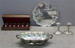 STERLING Miscellaneous Hollow Ware Grouping