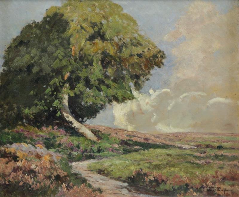 CHRISTAUFLOUR, Solange. Oil on Canvas. Spring