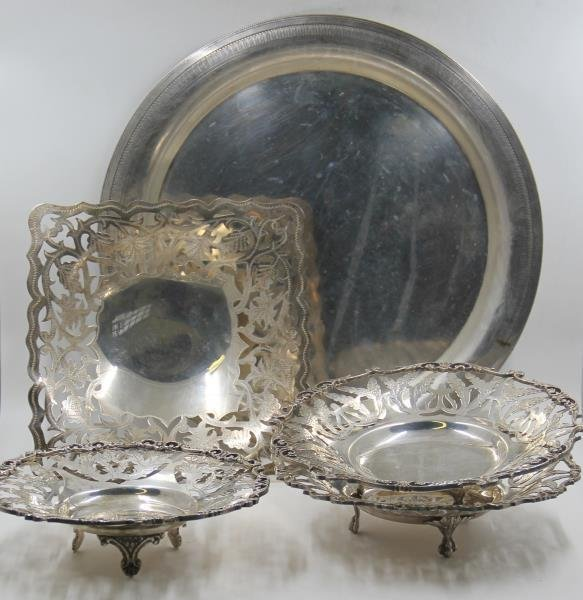 SILVER. Egyptian Silver Grouping.
