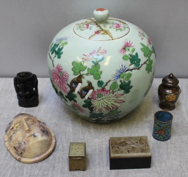Lot Of Vintage Asian Items