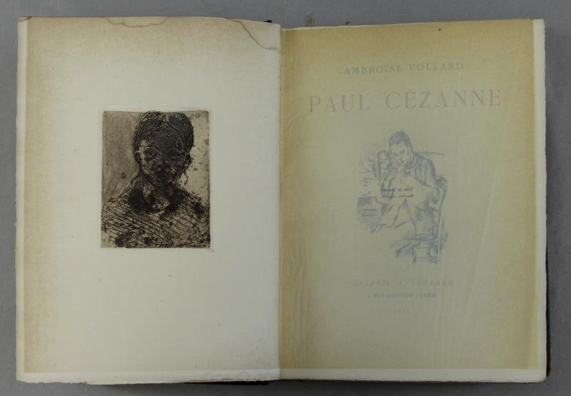 """Paul Cezanne"" Book by A. Vollard with Original"