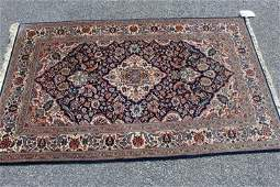 Finely Woven Vintage Handmade Throw Rug