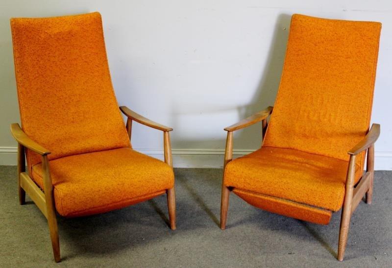 Pair of Milo Baughman For Thayer Coggin Lounge