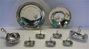 STERLING Assorted Silver Hollow Ware Grouping
