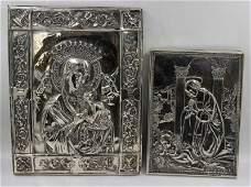 STERLING. Henryk Winograd Silver Icons.