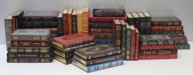 Leather Bound Book Lot, 55 Volumes, Easton Press