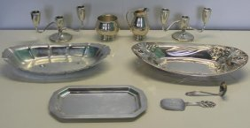 Sterling. Assorted Silver Items.