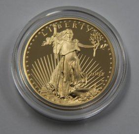 American Eagle 2003 One Ounce Gold Proof Coin