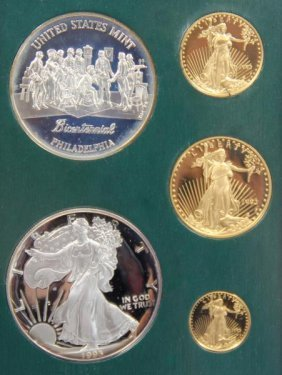 "U.s. Gold Proof ""philadelphia"" Set 1993"