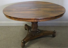 Regency Rosewood Tilt Top Breakfast Table .