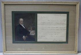 (autographs) Daniel Webster Als