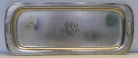 Sterling. F. Novick Arts And Crafts Serving Tray.