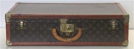 Vintage Louis Vuitton Hard Case Luggage  Suitcase