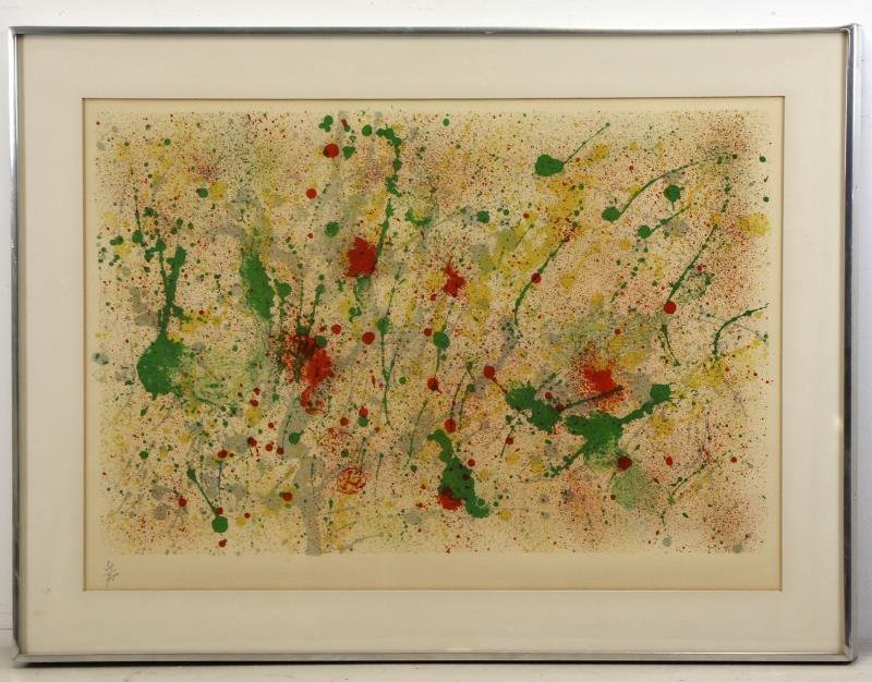 MIRO, Joan. Color Lithograph From Ubu Roi. - 2