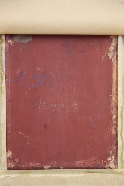 OSTERSETZER, Carl Oil on Wood Panel. Orientalist - 6