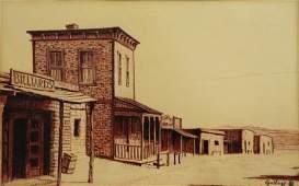 GOLLINGS, William. Chalk on Paper. Western Village