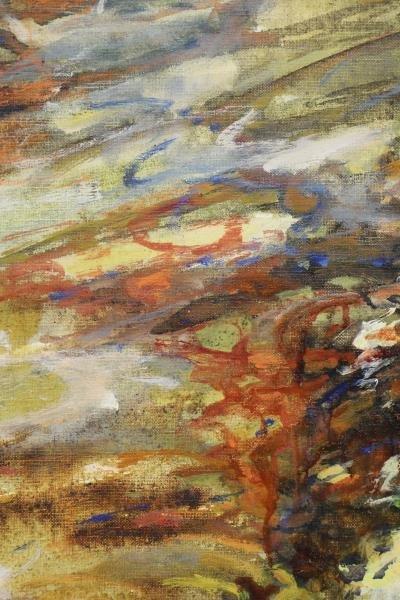 "DAGAN, Geula. Oil on Canvas. ""Limites de la Mer"". - 3"