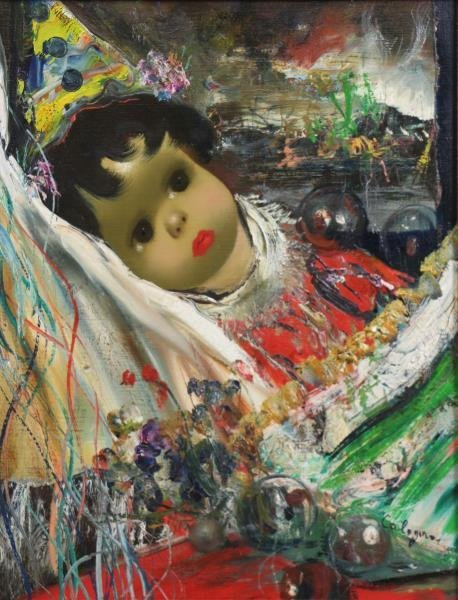 CALOGERO, Jean. Two Oils on Canvas. - 4