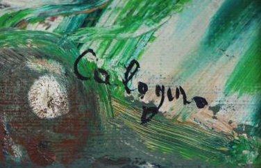 CALOGERO, Jean. Two Oils on Canvas. - 5