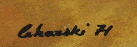 LEKARSKI, Andrey. Oil on Masonite. Reclining Nude - 5