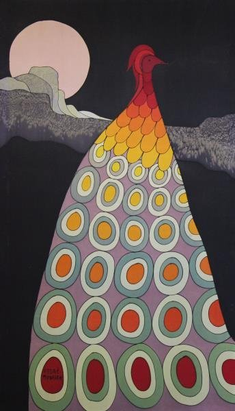 MURASAN, Andre. Batik Peacock.