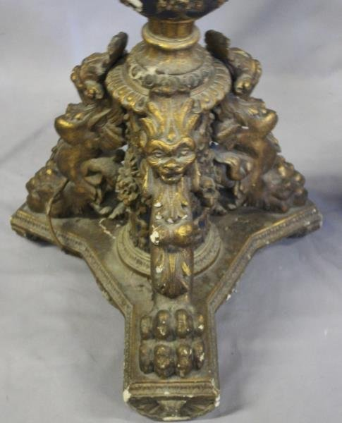 A Pair of Impressive Italian Patinated and Carved - 3