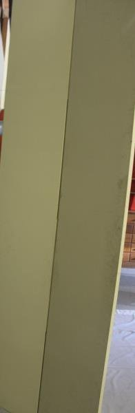 Large Decorative Hand Painted 5 Panel Screen. - 6
