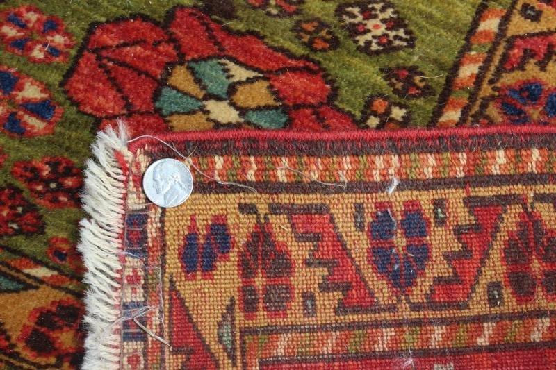 Finely Woven Antique Kazak Style Throw Rug. - 4
