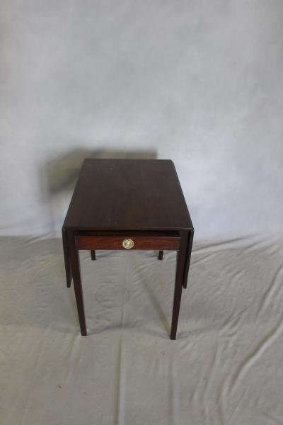 Antique Mahogany Pembroke Table .