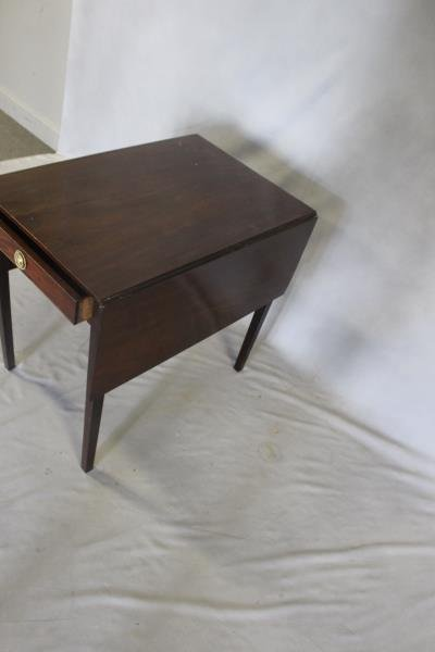 Antique Mahogany Pembroke Table . - 2