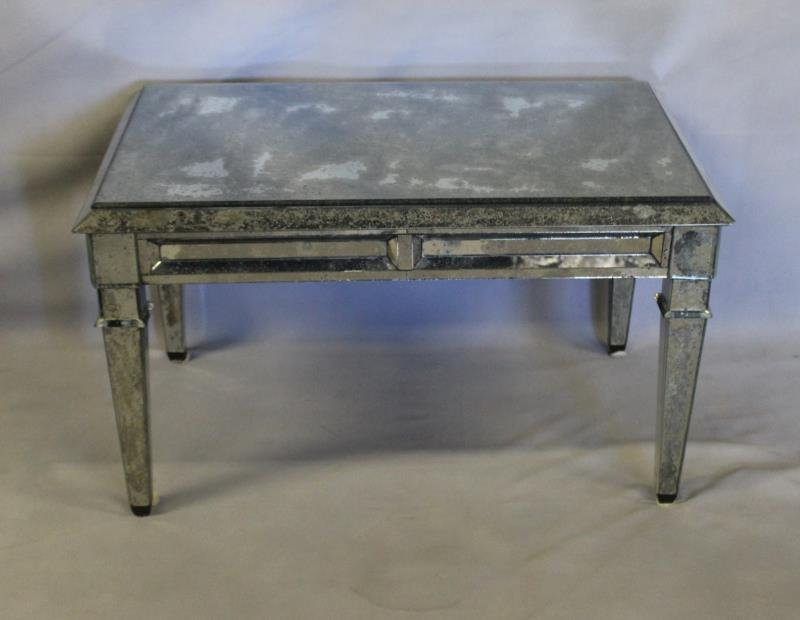Vintage Mirrored Coffee Table.
