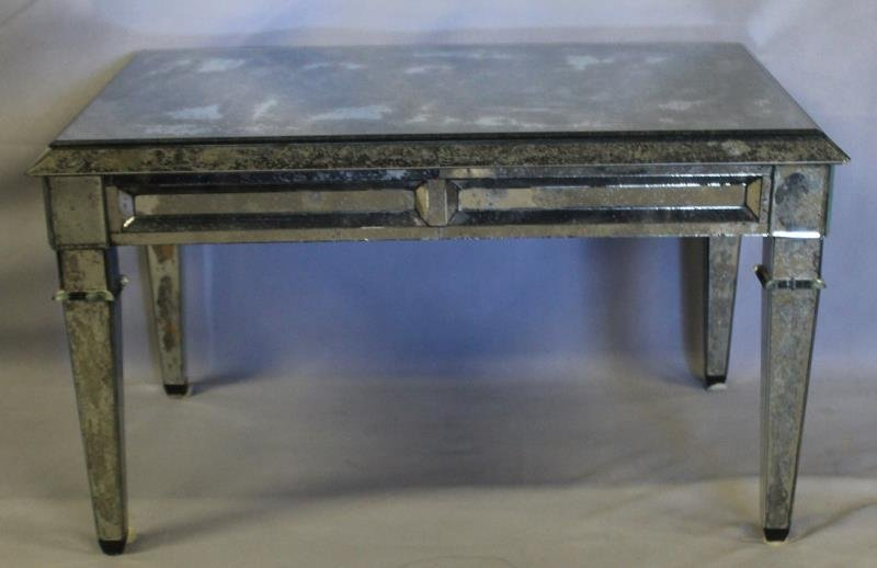 Vintage Mirrored Coffee Table. - 2