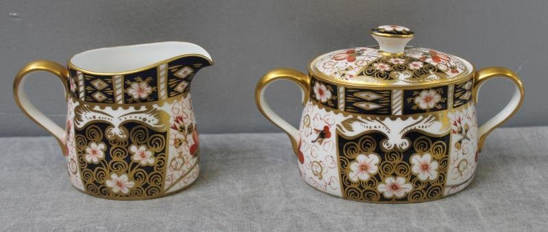 """Large Grouping of Crown Derby """"Imari """" Porcelain. - 2"""